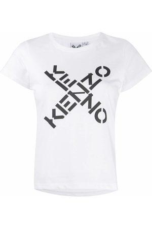 Kenzo Women T-shirts - WOMEN'S FA62TS7204SJ01 COTTON T-SHIRT