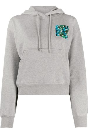 Kenzo WOMEN'S FA62SW7774MO94 GREY COTTON SWEATSHIRT