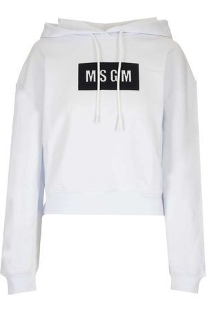 Msgm WOMEN'S 2941MDM17720779901 COTTON SWEATSHIRT