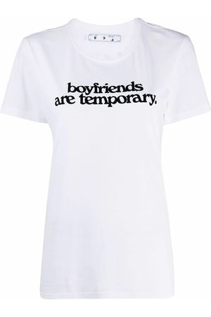 OFF-WHITE Women T-shirts - WOMEN'S OWAA049F20JER0080110 COTTON T-SHIRT
