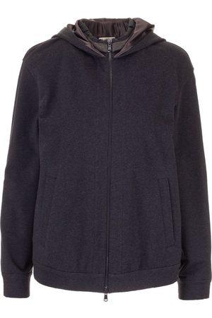 Brunello Cucinelli Women Sweatshirts - WOMEN'S MH827SE216C055 COTTON SWEATSHIRT