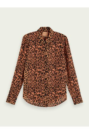Scotch&Soda Scotch & Soda Regular Fit Animal Print Shirt
