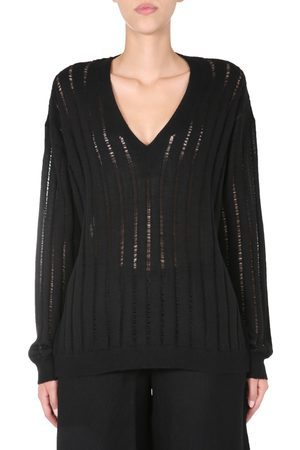 UMA WANG V-NECK SWEATER