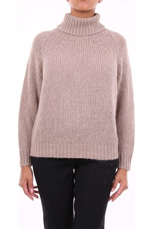 PESERICO SIGN Knitwear High Neck Women Sand