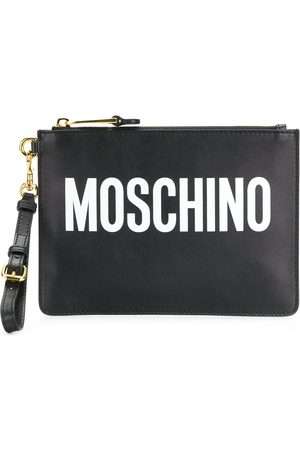 Moschino WOMEN'S A841580011555 LEATHER POUCH