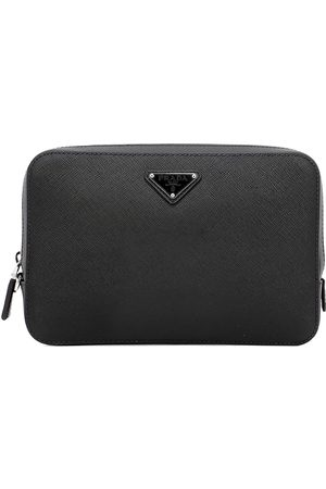 Prada MEN'S 2VF0179Z2F0002 LEATHER POUCH