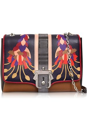 PAULA CADEMARTORI WOMEN'S ALIFW17VTCAFIIN46 LEATHER SHOULDER BAG