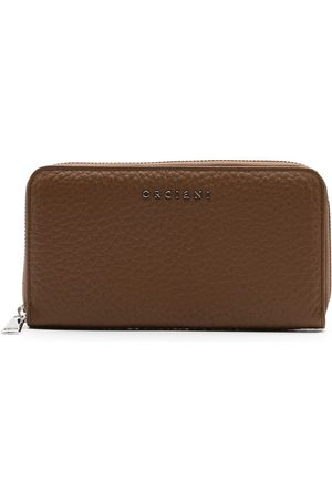 Orciani WOMEN'S SD0047SOFTBROWN LEATHER WALLET