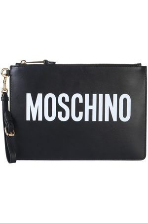 Moschino WOMEN'S A840580011555 LEATHER POUCH