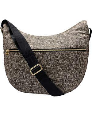 Borbonese Luna Bag Medium Nylon zip OP - OP Natural /