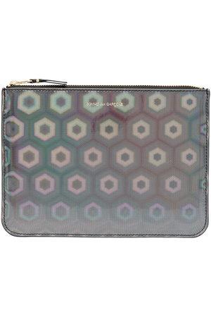 Comme des Garçons Wallets - Holographic zipped wallet
