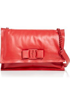 Salvatore Ferragamo Women Purses - Viva Leather Shoulder Bag
