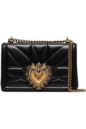 Dolce & Gabbana DOLCE E GABBANA WOMEN'S BB6652AV96780999 LEATHER SHOULDER BAG
