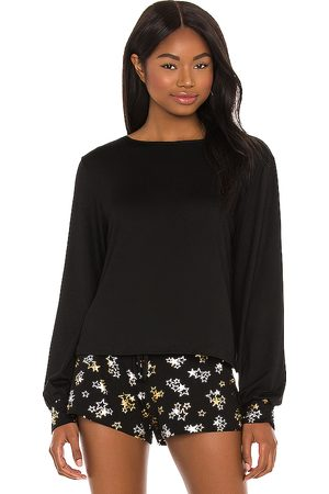 Hanky Panky Long Sleeve Top in Black.