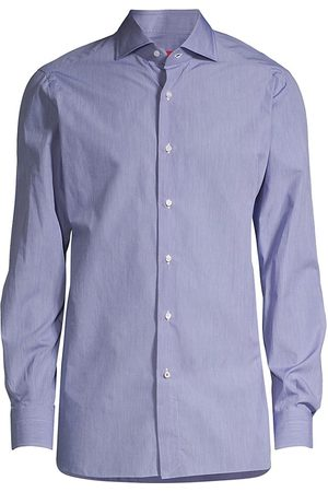 ISAIA Men's Classic Sport Shirt - - Size 46 (18)