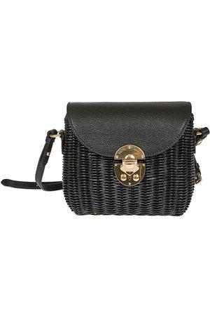 Miu Miu WOMEN'S 5BH1712D6FF0002 CANVAS SHOULDER BAG
