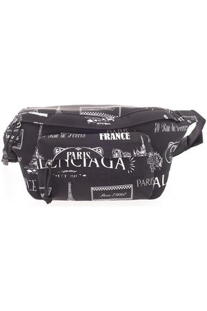 Balenciaga MEN'S 5330099MIHN1090 POLYAMIDE BELT BAG