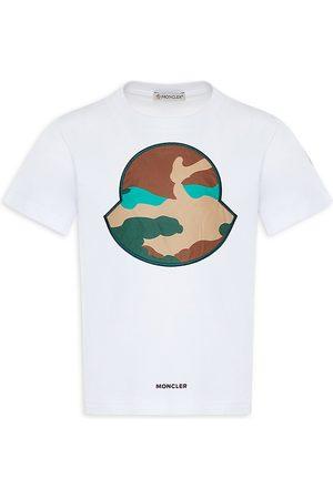 Moncler Little Boy's & Boy's Graphic Camo Front T-Shirt - - Size 10