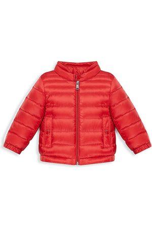 Moncler Baby's & Little Boy's Alber Biker Puffer Coat - - Size 3