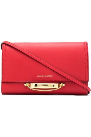 Alexander McQueen WOMEN'S 630261D78AT6650 LEATHER POUCH
