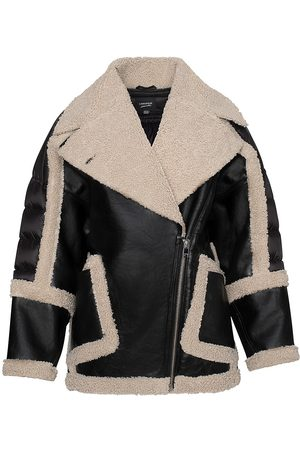 LaMarque Women's Lisa Faux Fur Leather Jacket - - Size XS-Small