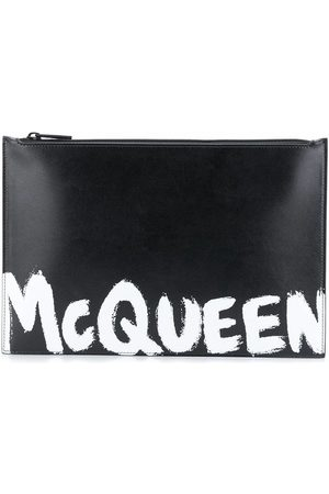Alexander McQueen MEN'S 5604721NT5B1070 LEATHER POUCH