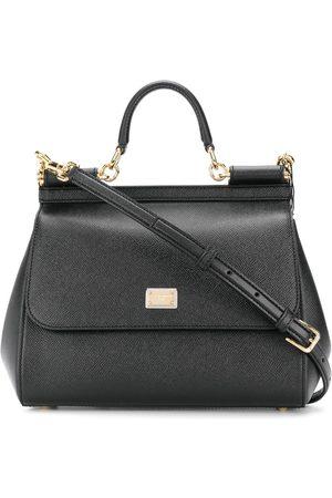 Dolce & Gabbana DOLCE E GABBANA WOMEN'S BB6002A100180999 LEATHER HANDBAG
