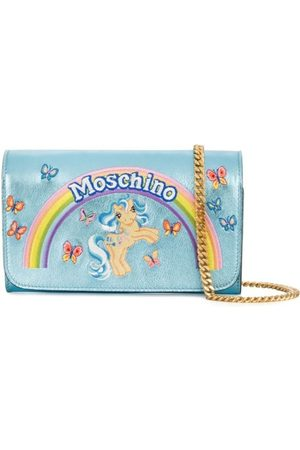Moschino WOMEN'S A819980610305 LIGHT LEATHER WALLET