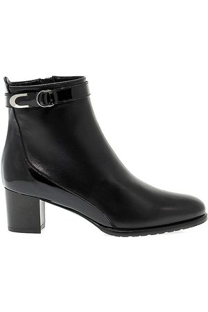 Linea Pitti WOMEN'S PITTI1154 LEATHER ANKLE BOOTS