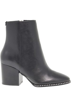 Guess WOMEN'S FLCOE4 LEATHER ANKLE BOOTS