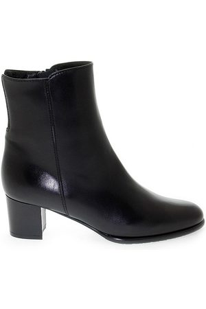 Linea Pitti WOMEN'S PITTI712 LEATHER ANKLE BOOTS