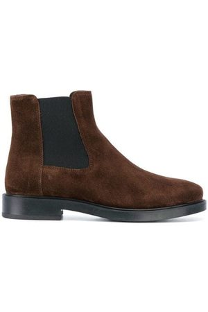 Tod's WOMEN'S XXW0ZP0V830BYES611 FABRIC ANKLE BOOTS