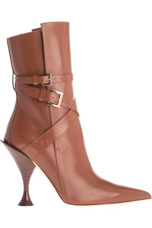 Burberry WOMEN'S 8020112 LEATHER ANKLE BOOTS