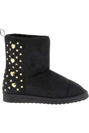Love Moschino WOMEN'S 24173 SUEDE ANKLE BOOTS