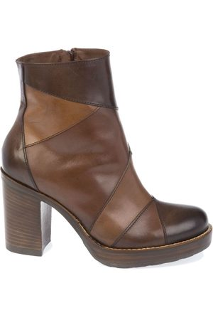 DONNA PIÙ DONNAPIU' WOMEN'S 9880TMORO LEATHER ANKLE BOOTS