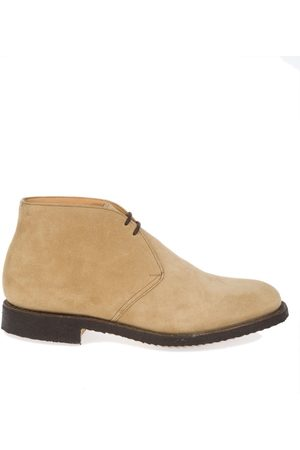 Church's MEN'S 12320996MUD SUEDE ANKLE BOOTS