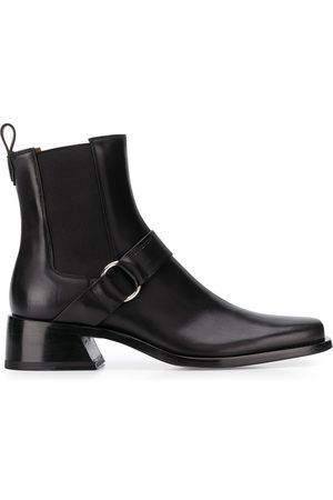 Givenchy MEN'S BH601GH0K5001 LEATHER ANKLE BOOTS