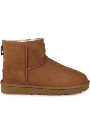 UGG WOMEN'S 1016222WCHESTNUT SUEDE ANKLE BOOTS
