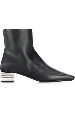 Balenciaga WOMEN'S 590984WA8F31081 LEATHER ANKLE BOOTS