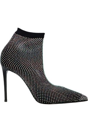 LE SILLA WOMEN'S 2118M090R1PPCAY001 GLITTER ANKLE BOOTS