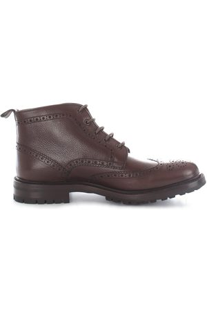 ORTIGNI MEN'S 2108315 LEATHER ANKLE BOOTS