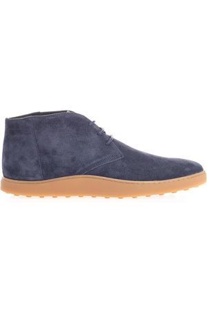 Tod's MEN'S XXM52B0AW50RE09999 SUEDE ANKLE BOOTS
