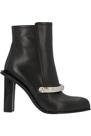 Alexander McQueen Women Ankle Boots - WOMEN'S 633480WHWQ71081 LEATHER ANKLE BOOTS