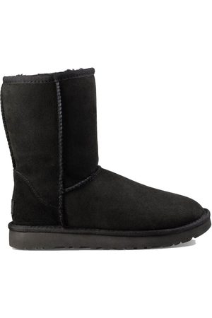 UGG WOMEN'S 1016223WBLACK SUEDE ANKLE BOOTS