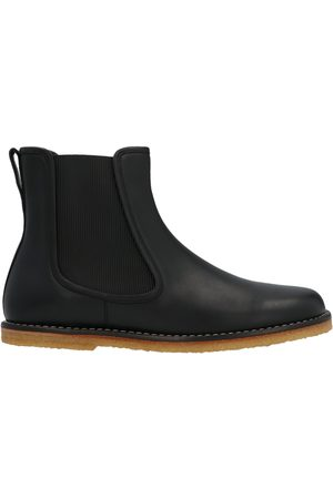 Loewe MEN'S M816S05X011100 LEATHER ANKLE BOOTS