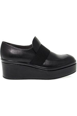 Janet&Janet Women Flat Shoes - WOMEN'S 38100 LEATHER SLIP ON SNEAKERS