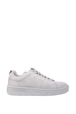 Eytys MEN'S ASCE009 GREY LEATHER SNEAKERS