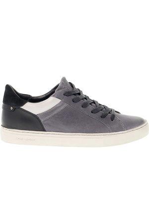 Crime london Men Sneakers - MEN'S 11031A1730 GREY/BLACK SUEDE SNEAKERS