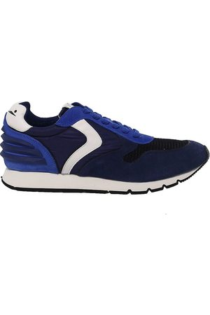 Voile blanche MEN'S 9113BLUE FABRIC SNEAKERS
