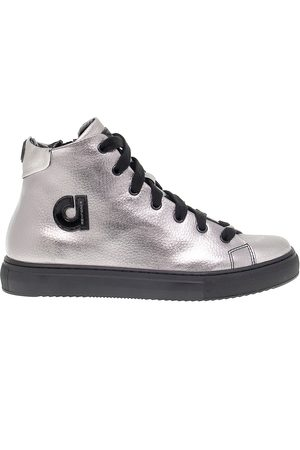Ruco Line RUCO LINE WOMEN'S RUCO2815 LEATHER HI TOP SNEAKERS